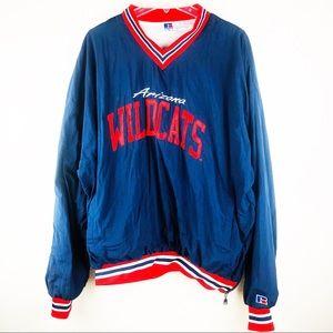 Mens Russell Athletic Wildcats Arizona Jacket XL